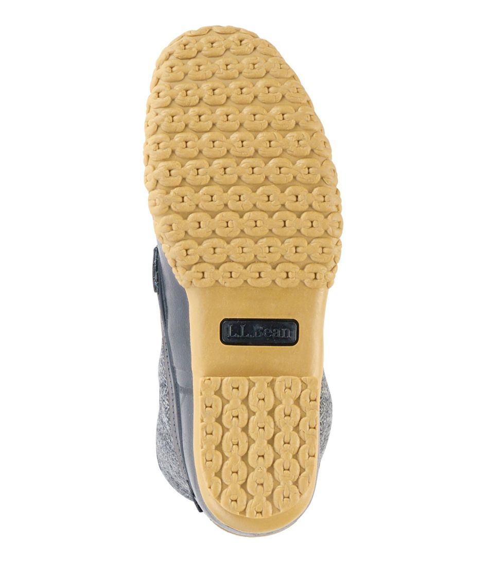 "Women's L.L.Bean Boot, 10"" Shearling-Lined Herringbone"