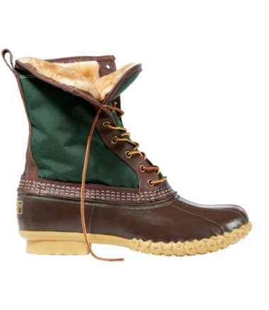 "Men's L.L.Bean Boots, 10"" Shearling-Lined"