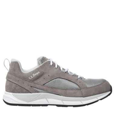 Men's Bean's Comfort Fitness Walking Shoes, Suede Mesh