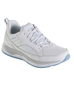 Women's Bean's Comfort Fitness Walkers, Leather Mesh