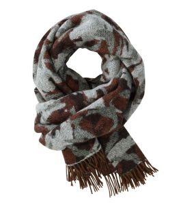 L.L.Bean Wool Scarf, Jacquard