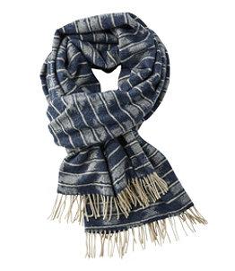 Women's L.L.Bean Wool Scarf, Jacquard
