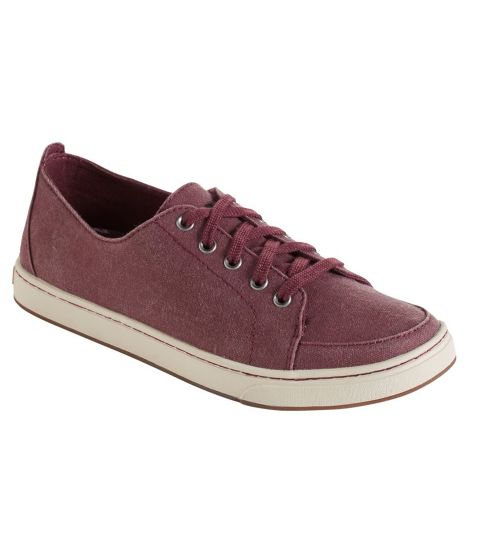 Women's Campside Shoes, Oxford Lace to Toe