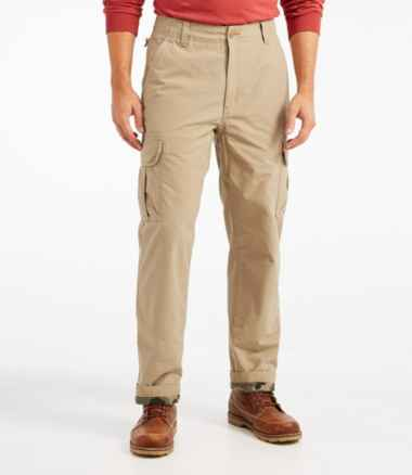 Men's Allagash Cargo Pants, Natural Fit, Lined