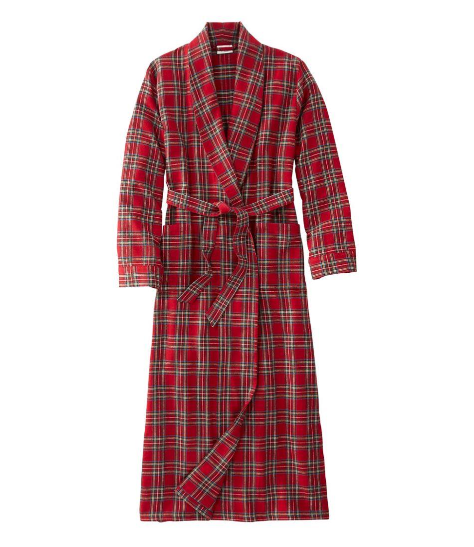 a9090fb861bd74 Women's Scotch Plaid Flannel Robe