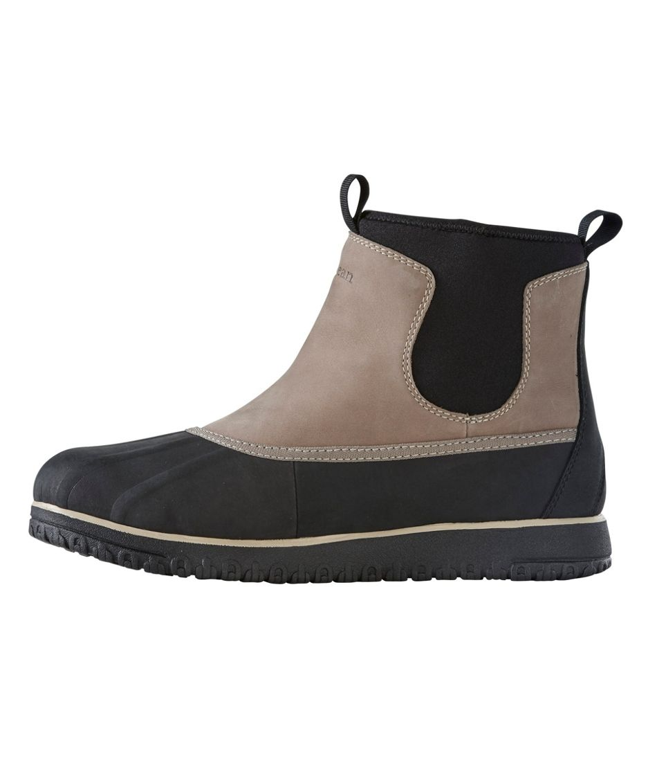 Men's Ultralight Waterproof Insulated Pac Boot, Mid Pull-On