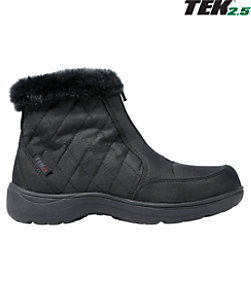 Women's Insulated Commuter Boots, Mid Zip