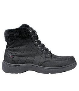 Women's Insulated Commuter Boots, Mid Lace-Up