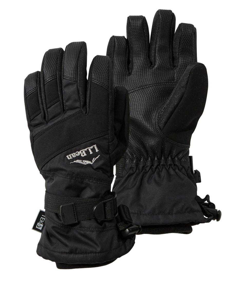 Kids' L.L.Bean Waterproof Ski Gloves
