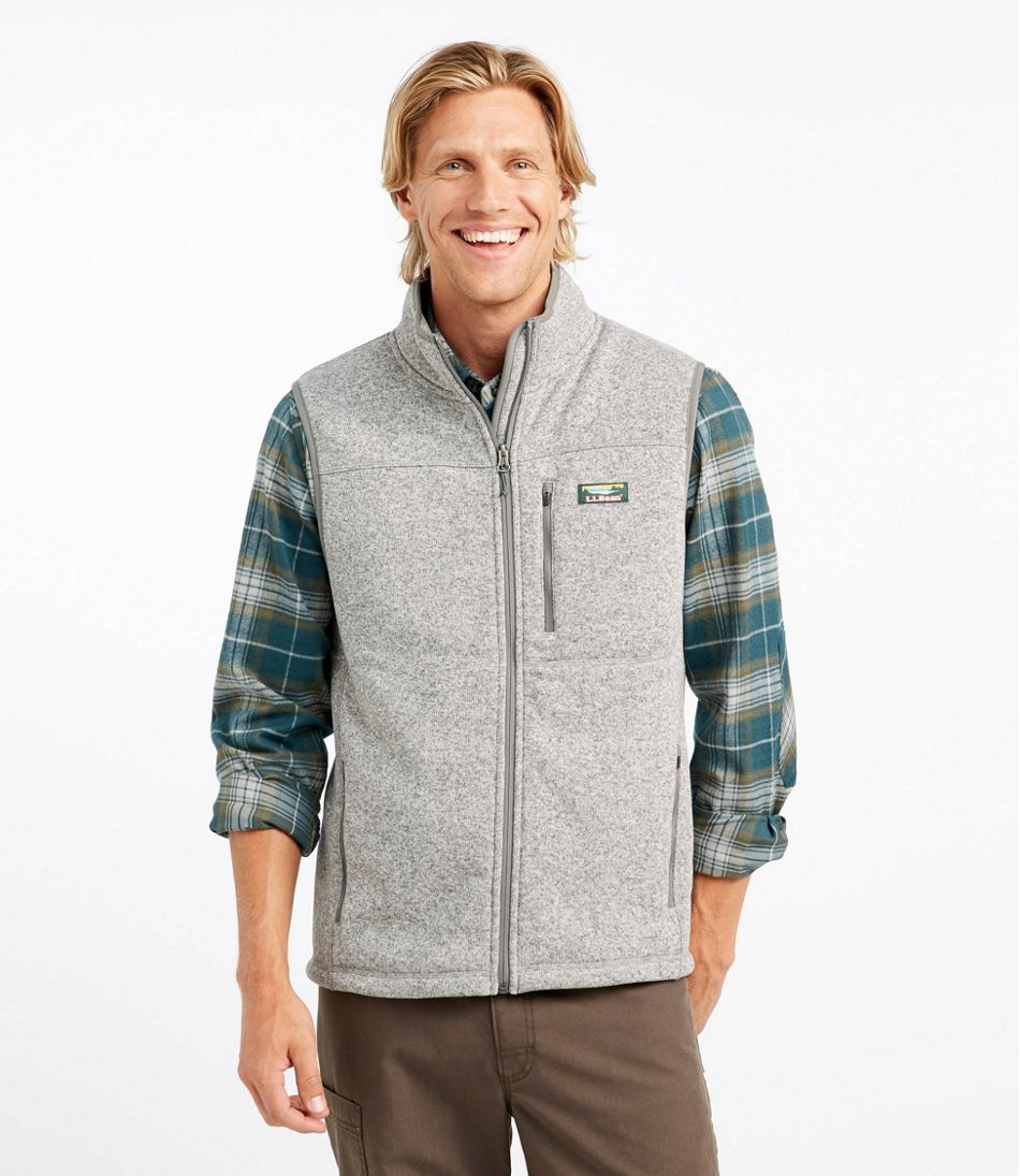 Men's Bean's Sweater Fleece Vest