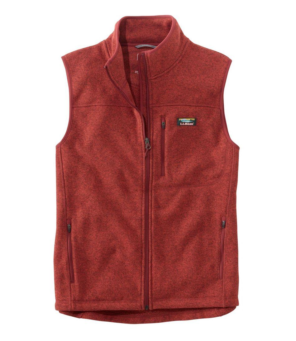 Men's Bean's Sweater Fleece Vest