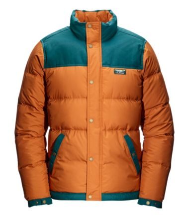 Men's Mountain Classic Down Jacket, Color Block