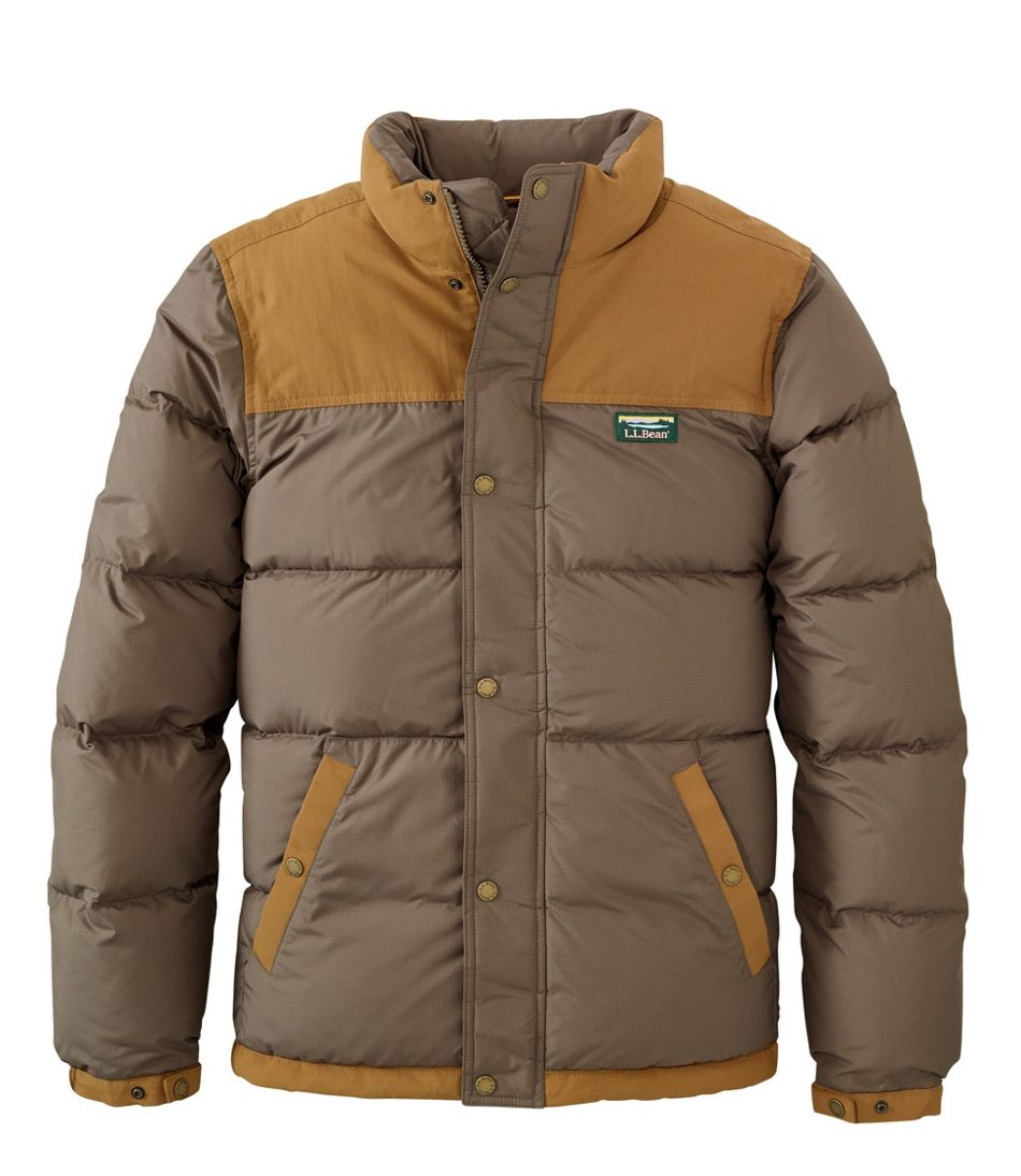 Men's Mountain Classic Down Jacket, Colorblock