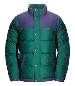 Men's Mountain Classic Down Jacket, Colorblock