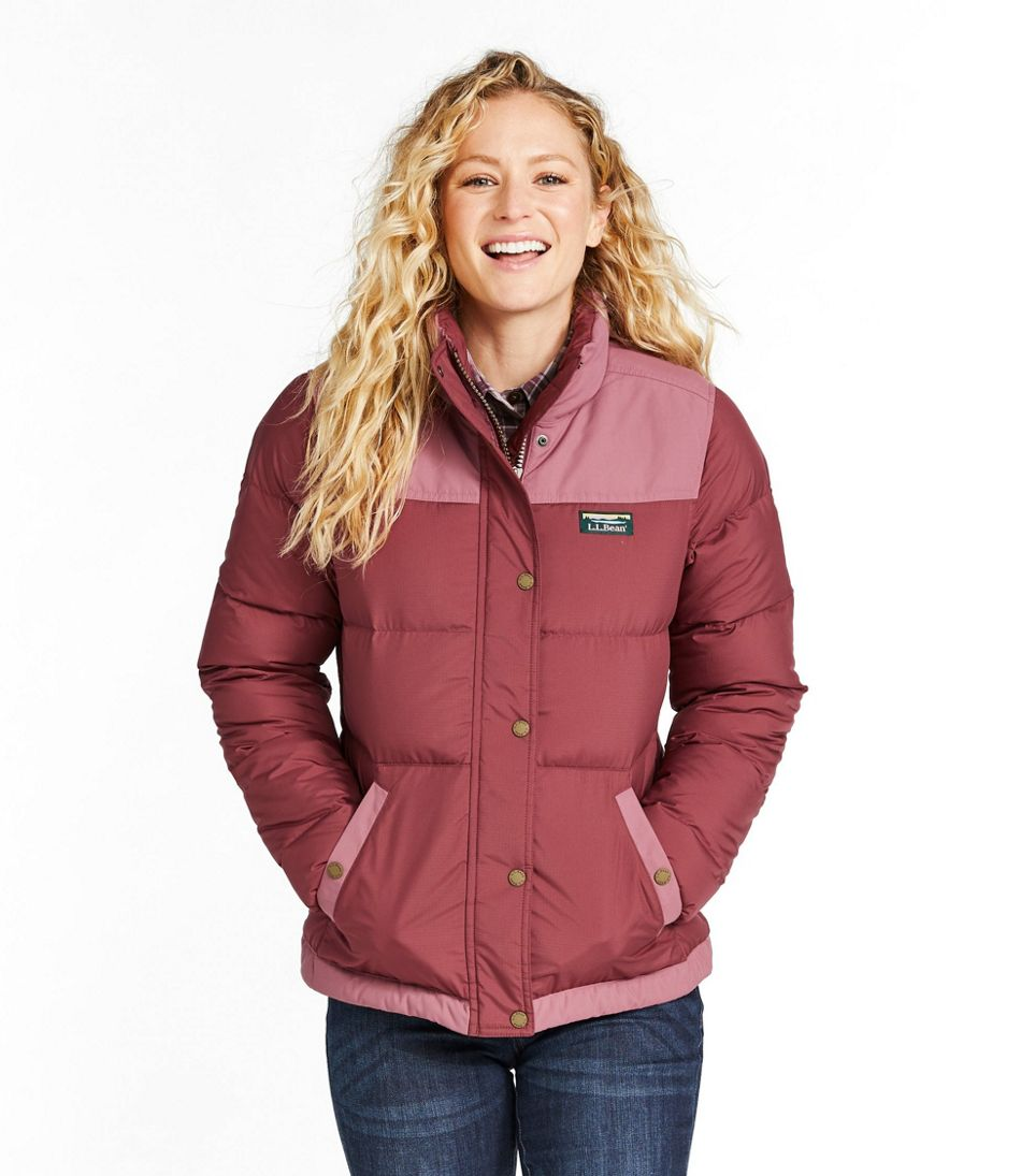 Women's Mountain Classic Down Jacket, Colorblock