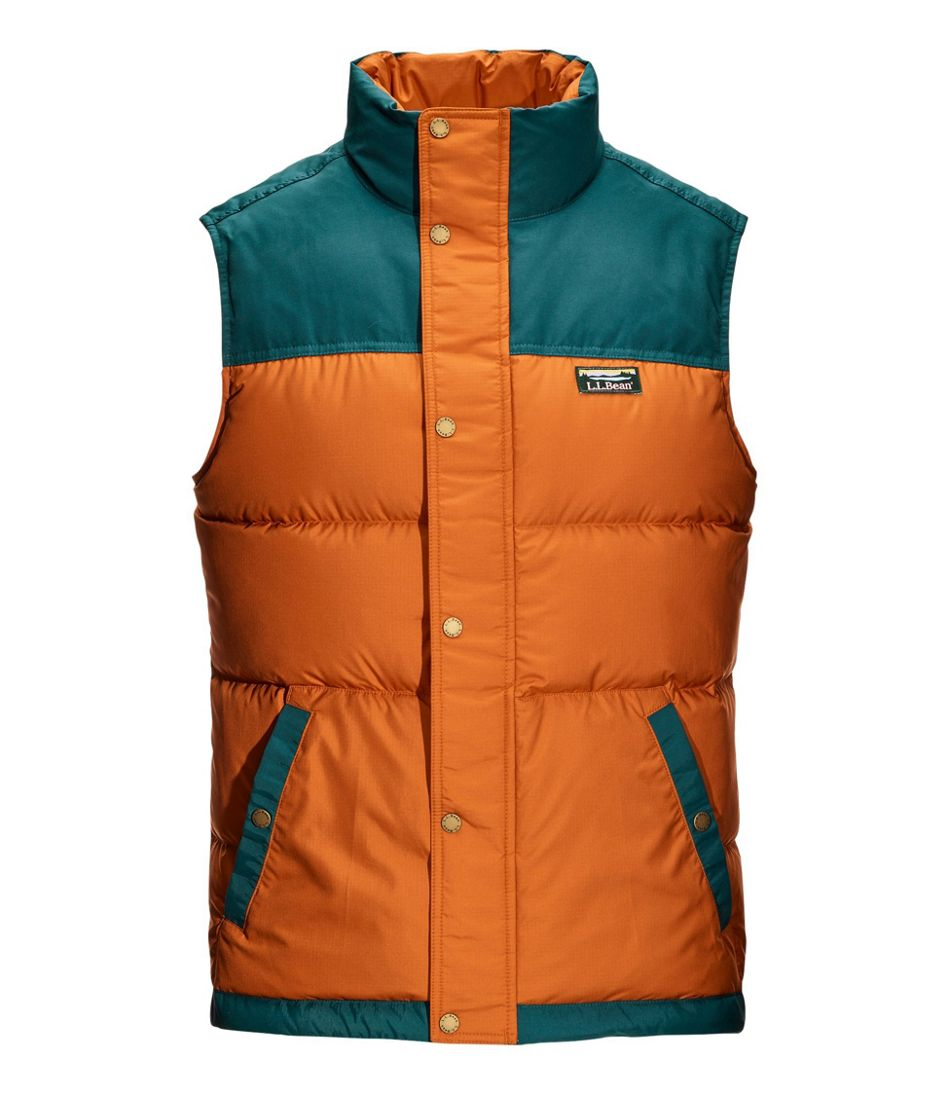 Men's Mountain Classic Down Vest, Colorblock