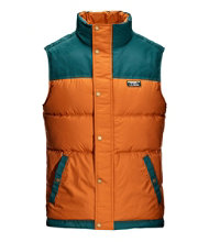 Men's Mountain Classic Down Vest, Color Block