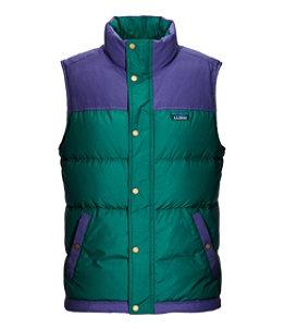 Men's Mountain Classic Down Vest, Colorblock