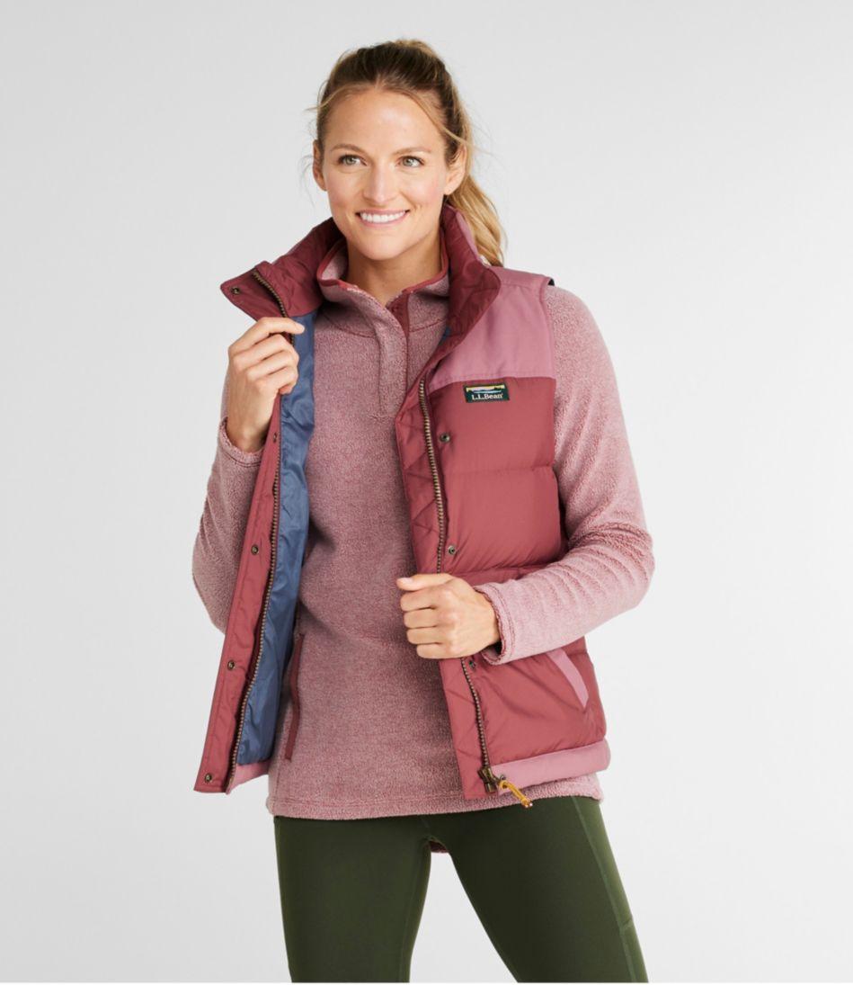 Women's Mountain Classic Down Vest, Color Block