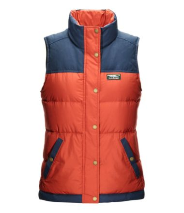Women's Mountain Classic Down Vest, Color Block