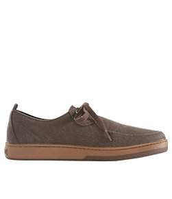 Men's Campside Shoes, 2-Eye Canvas