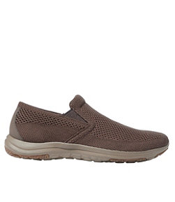 Men's Comfort Mocs, Ventilated Slip-On