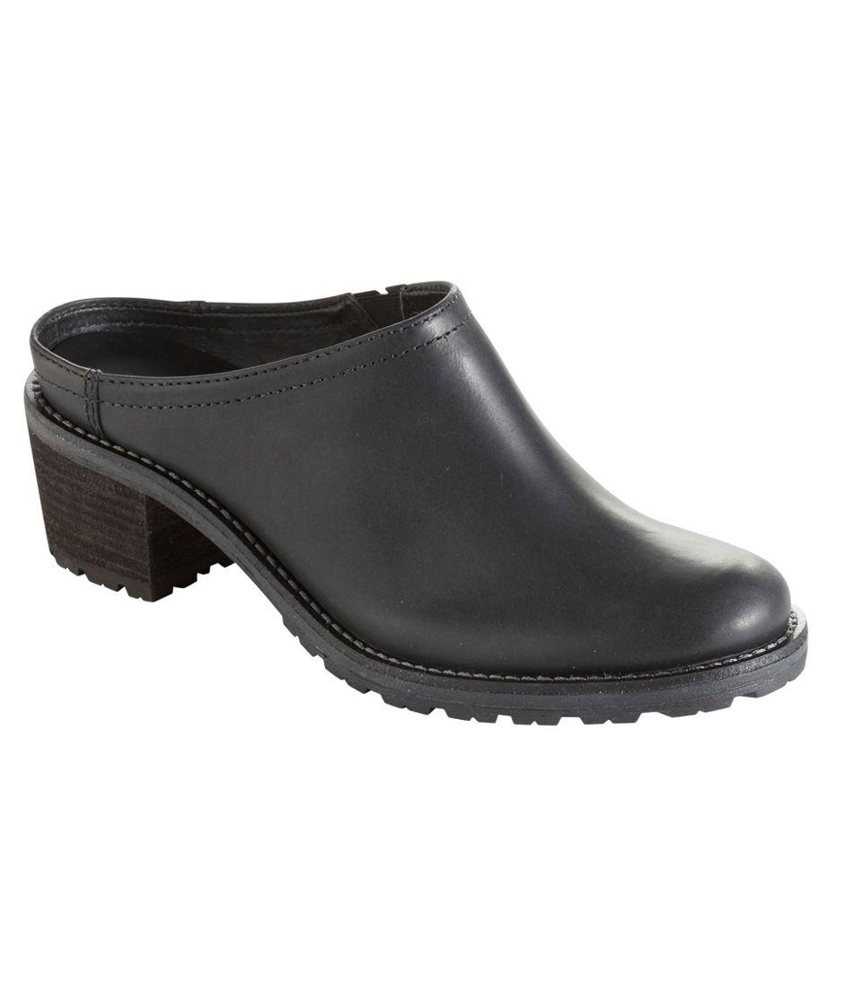 Women's Deerfield Mule Slip-Ons, Leather