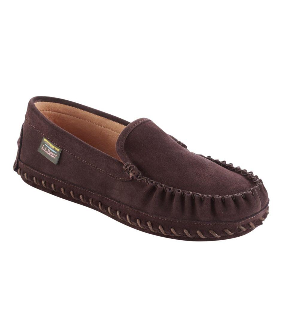Men's Wicked Good Deerskin-Lined Slippers, Original Venetian