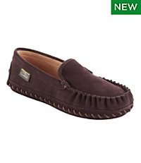 Men's Wicked Good Deerskin-Lined Slippers, Original Venetian