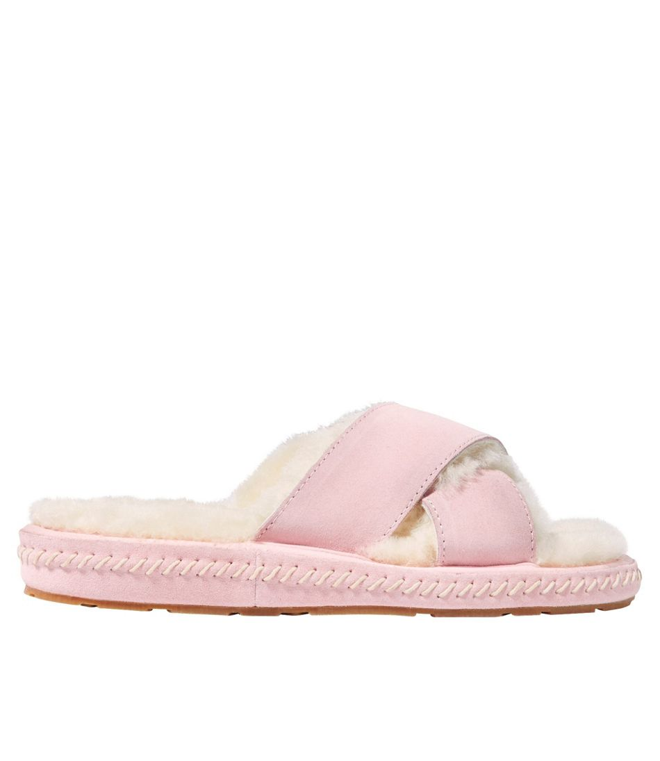 Women's Wicked Good Slipper, Cross Band Slide