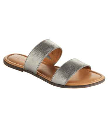 Women's Getaway Sandals, Two Strap Slide