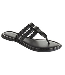 Women's Getaway Flip-Flop Sandals, Braided