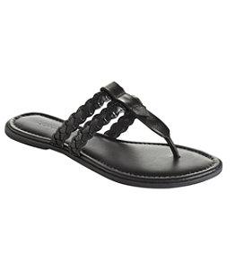 Women's Getaway Flip-Flop Sandals, Braided