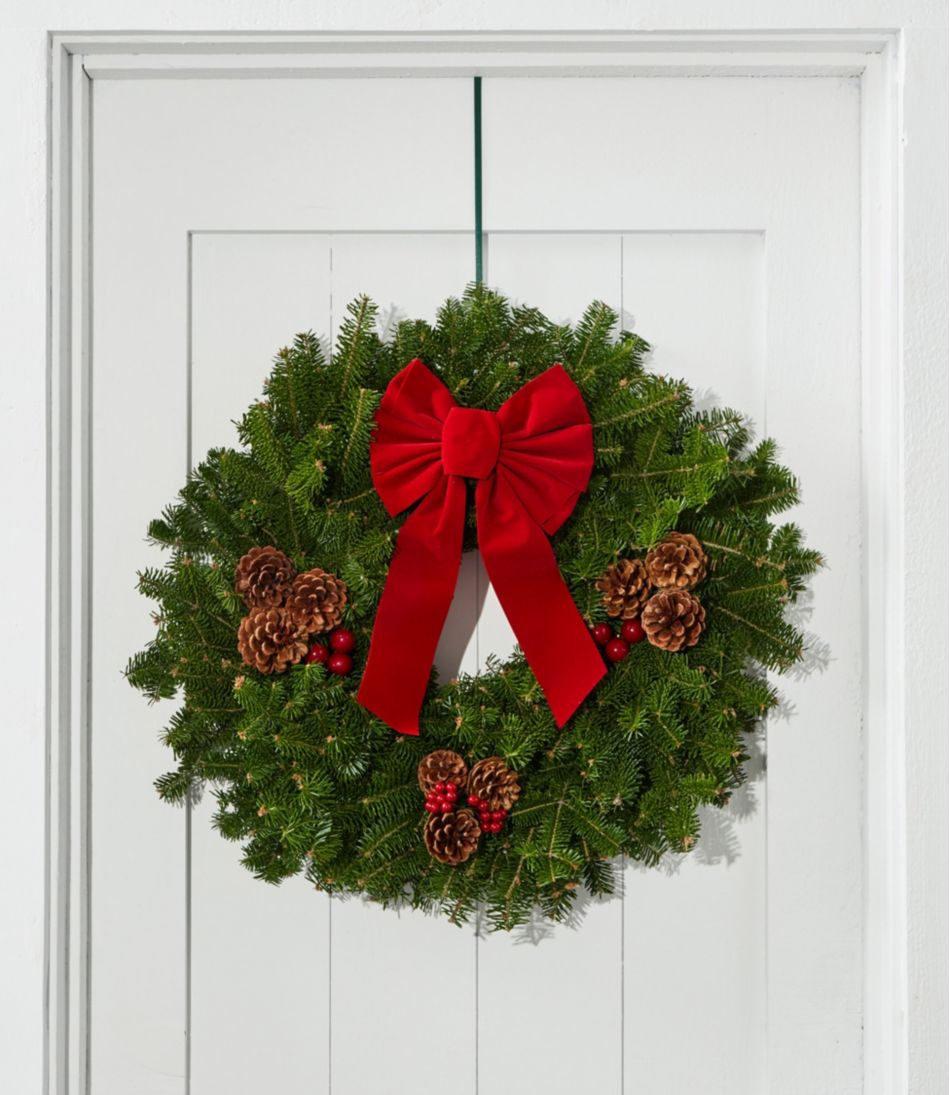 Traditional Balsam Wreath 24