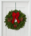 """Traditional Balsam Wreath 24"""", One Color, small image number 0"""