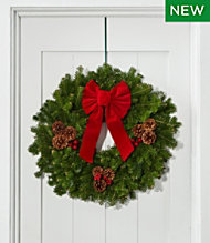 traditional christmas balsam wreath 24