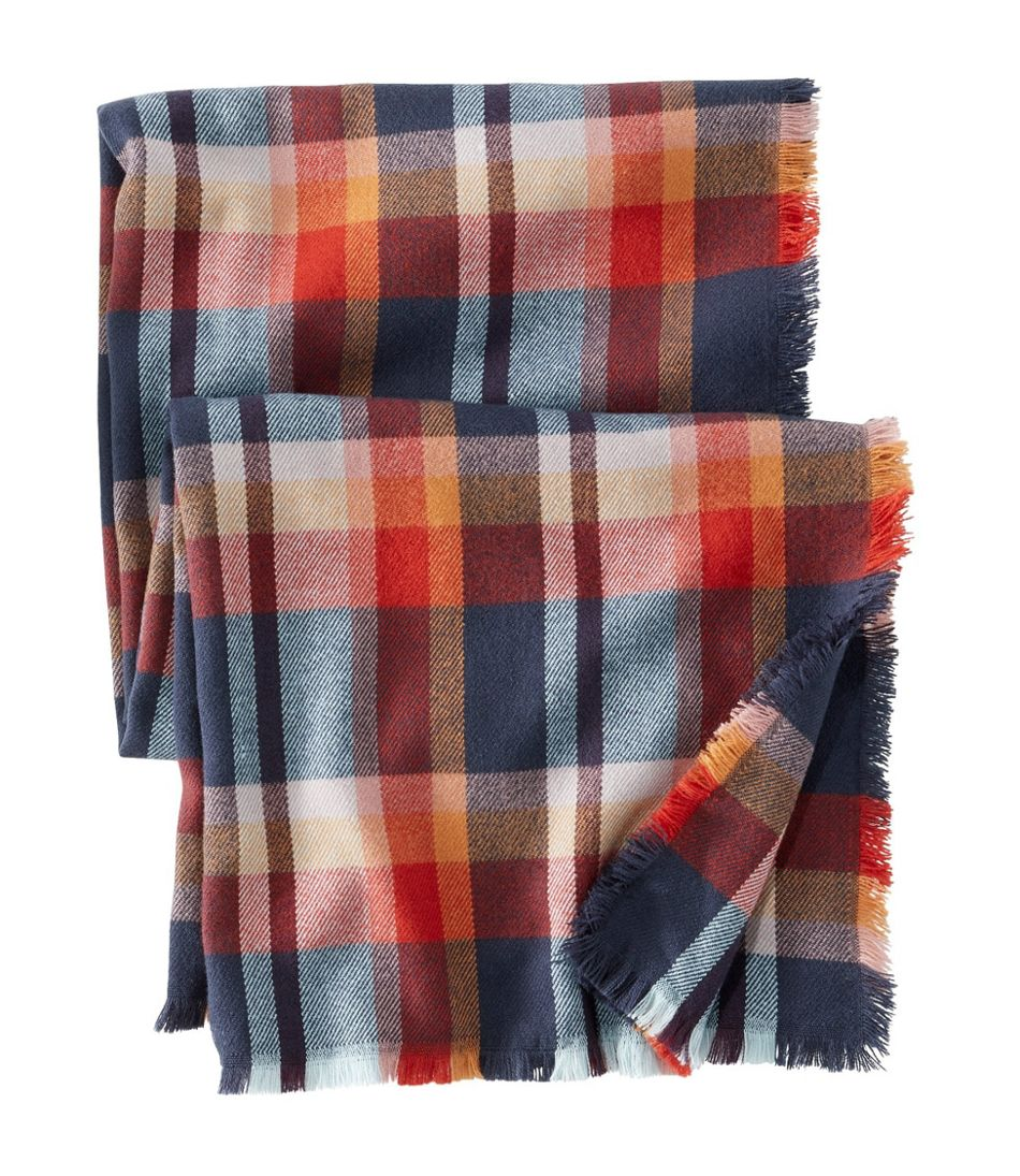 Women's Bean's Blanket Scarf