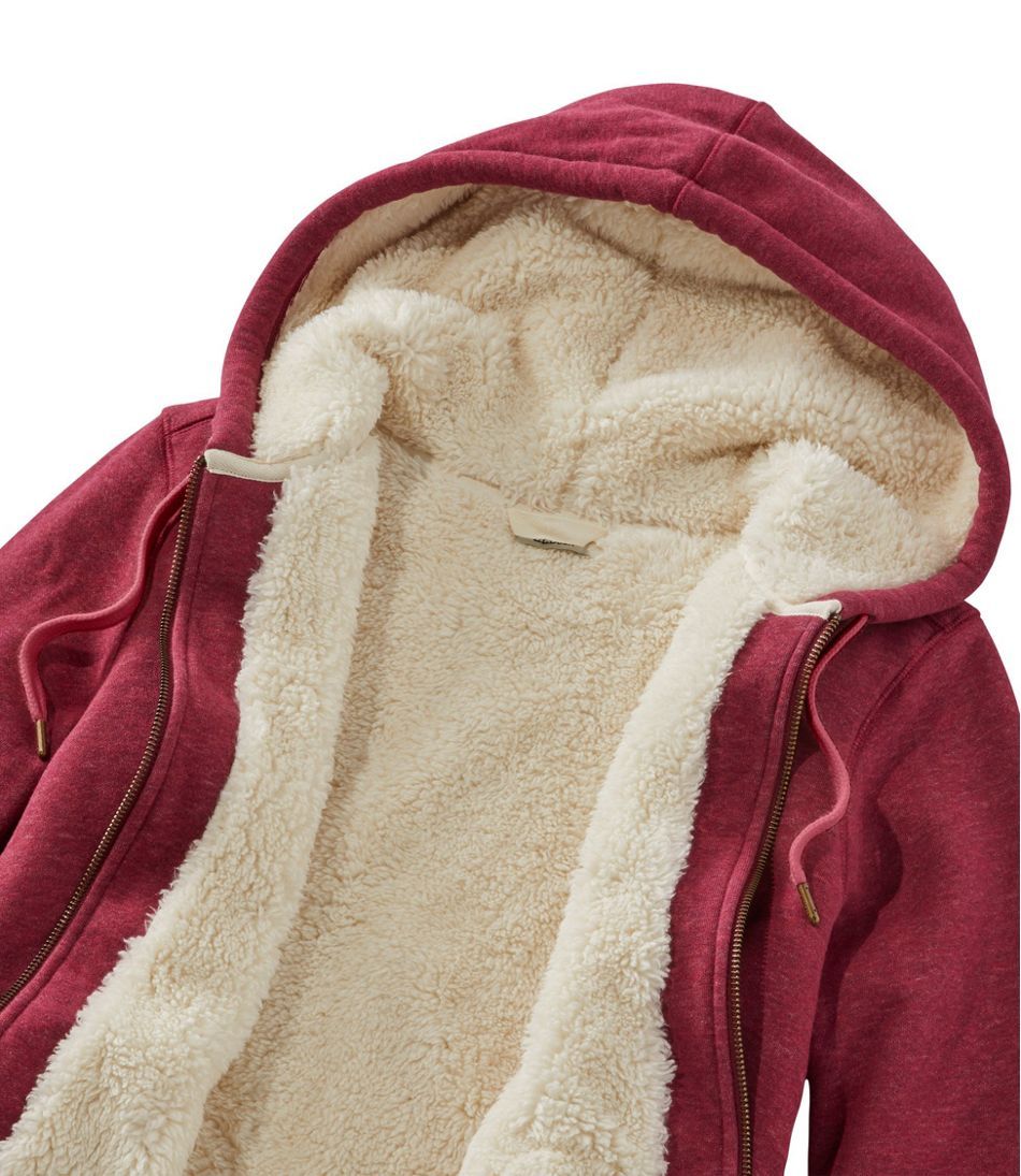 Sherpa-Lined Hoodie