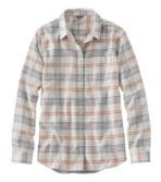 Women's L.L.Bean Organic Flannel Shirt, Plaid