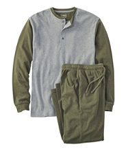 Men's L.L.Bean Interlock Pajamas, Color Block