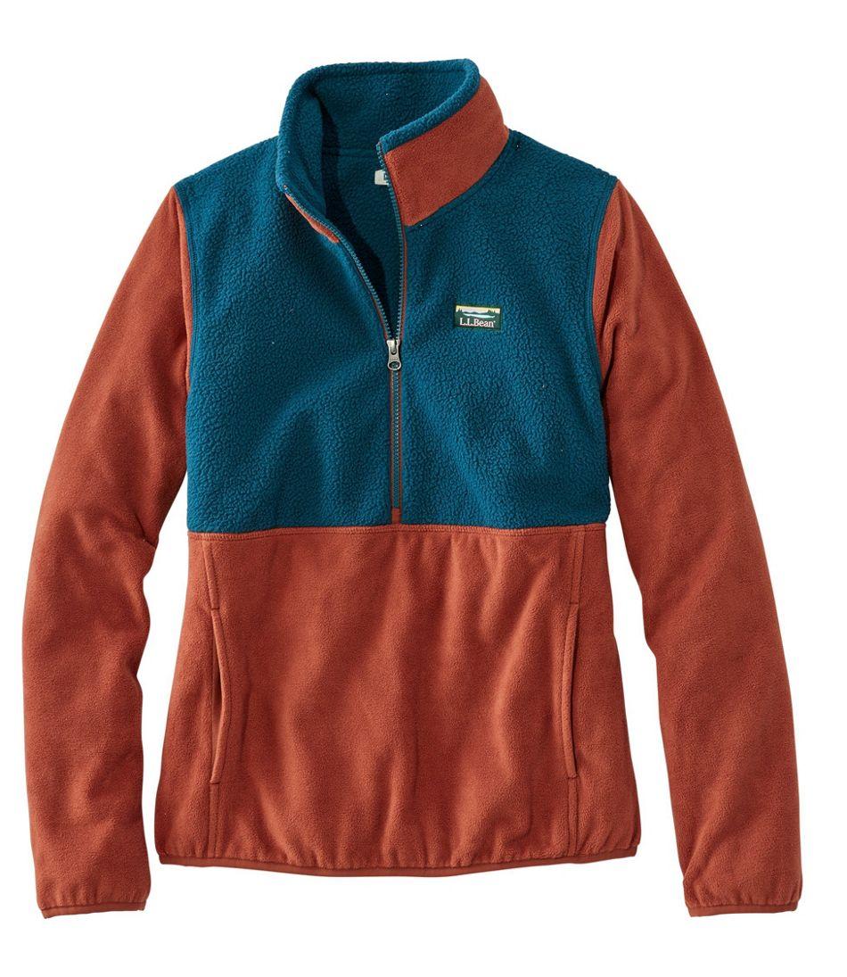 Katahdin Microfleece Pullover, Colorblock