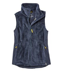 Women's Luxe Fleece Long Vest