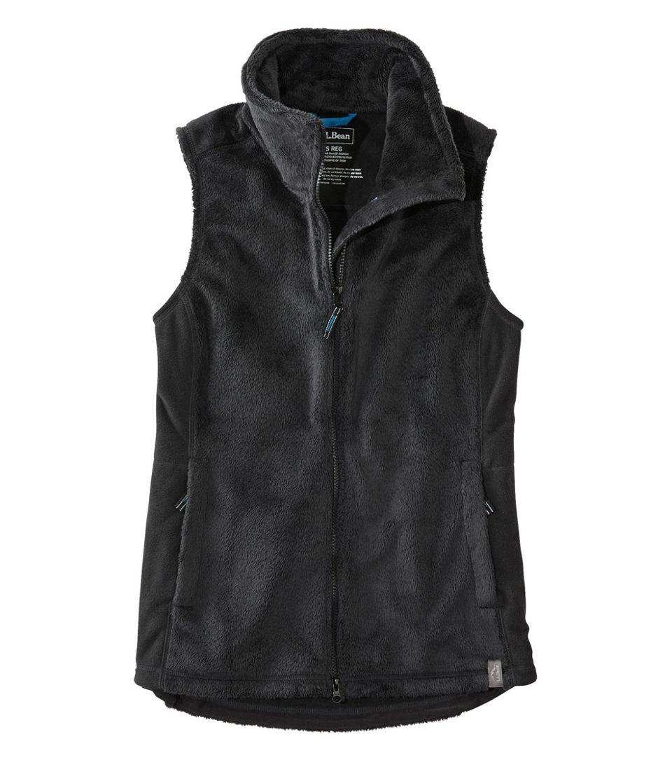 Women's Luxe Fleece Long Vest