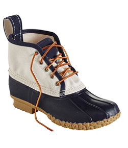 "Women's Small Batch Bean Boot, 6"" Canvas"