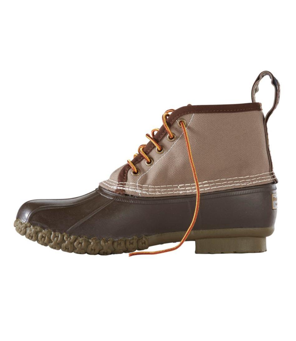 """Men's Small Batch Bean Boot, 6"""" Canvas"""