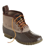 "Men's Small Batch Bean Boot, 6"" Canvas"