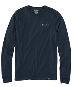 Men's Technical Fishing Graphic Tees, Long-Sleeve
