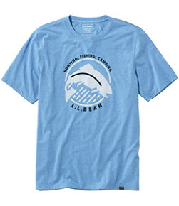Men's Technical Fishing Graphic Tees, Short-Sleeve