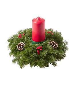 Traditional Balsam Centerpiece, Pillar