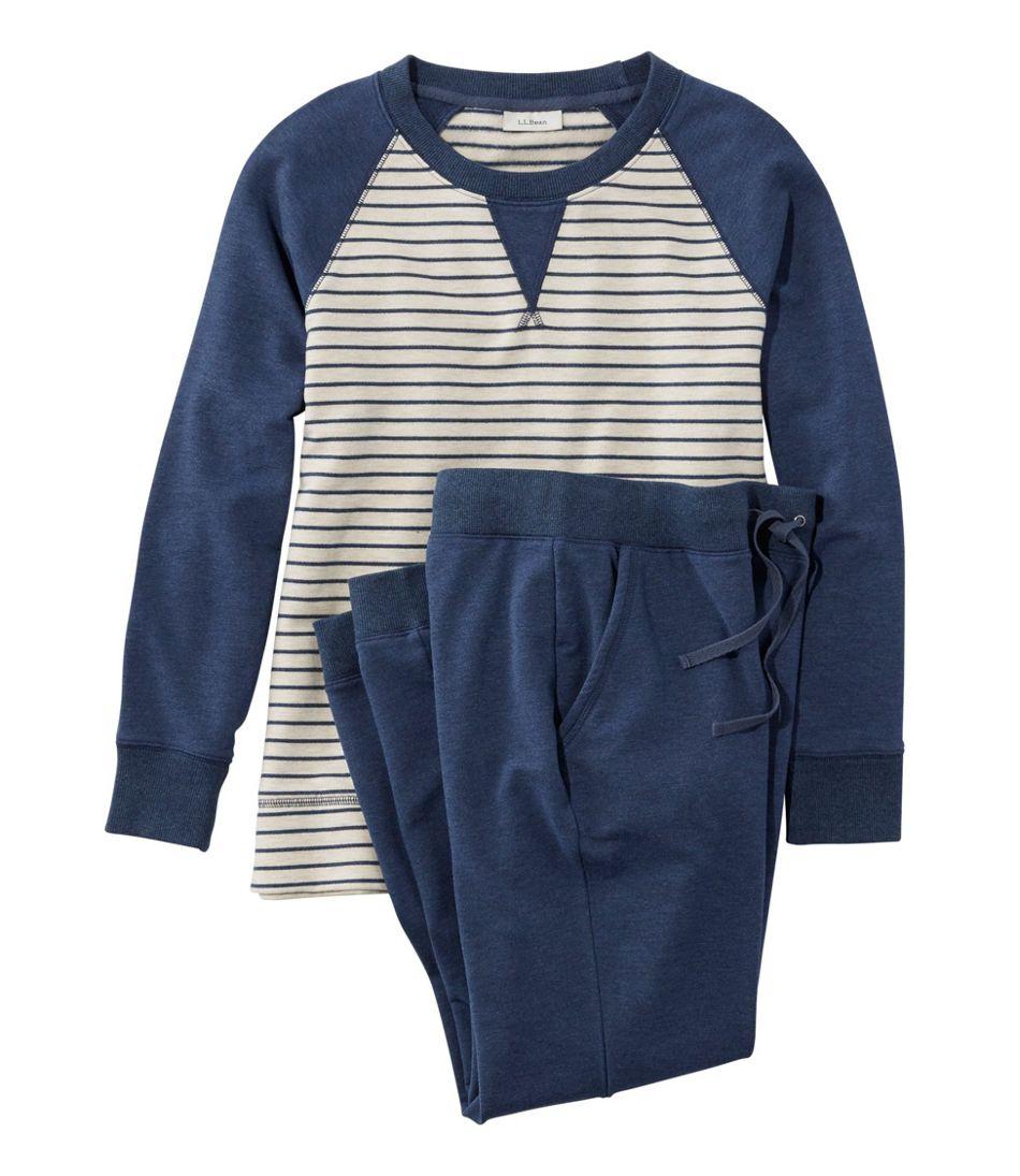 Women's Wicked Soft Knit Set, Stripe